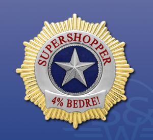 Supershopper 4% bedre shopper
