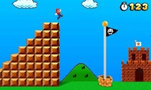 Mario har 123 points i livet..